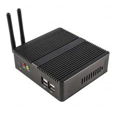 Small Desktop PC Intel Celeron J1900 Quad Core Mini PC Office Net Computer Dual Lan HDMI USB WIFI Router