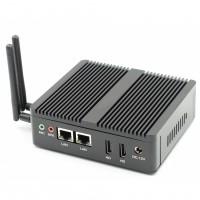 FanlessRuggedBox EGLOBAL Mini PC Windows10 Linux With HDMI RJ-45LAN Compact Mini PC