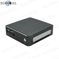 8th Gen Core i7 8565U Smallest Desktop Mini PC Single Board Gaming Computer Barebone Type-C DP VGA LAN AC WIFI Bluetooth TV BOX