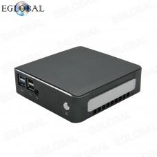 8th Gen Core i7 8565U Smallest Desktop Mini PC Single Board Gaming Computer Barebone Type-C DP VGA LAN AC WIFI Bluetooth TV BOX