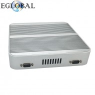Fanless Barebone Mini PC Core i3 6006U Skylake PC Win10 Mini Desktop Nuc 4K HTPC Fanless Nuc Intel HD Graphics