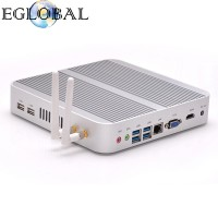 Core i7 4500U Haswell Architecture Windows 10 Fanless Mini PC Intel HD Graphics 4400 5USB Nettop Computer