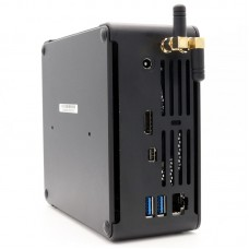 Intel Core i7 6785R Minicomputer Cooling Fan NUC 4k HTPC Iris Graphics 580 Mini DP Game Mini PC