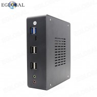 Fan Mini PC Intel Core i5-8250U Windows Linxu Deaktop 2 SODIMM 32GB DDR4 RAM Mini Computer DP HDMI TYPE-C RTC AWAL PXE