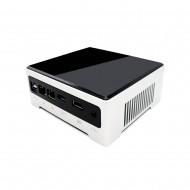Eglobal Fan Mini PC Intel Core i5 1035G4 Intel Iris 940 Graphics Mini Computer Dual Lan 6 USB3.0 DP HD Dual Display HTPC AC WIFI