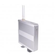 Celeron 1007U Fanless Barebone Mini PC Linux TV Box OpenELEC KODI as HTPC VGA HDMI Dual Display Small Desktop