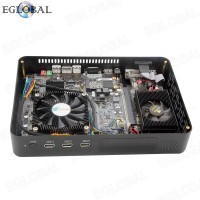 EGLOBAL Desktop DDR3 Mini PC Win10 Intel Core i7 2620M Dual Graphics GTX 750TI/1050/1050TI 3.4GHz Game Computer 4K HDMI WI-FI DVI SD