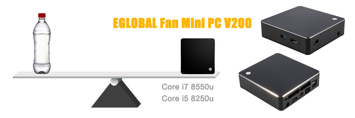 EGLOBAL Fan Mini Computers