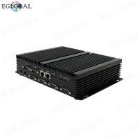 Industrial Computador Mini pc Celeron 2955U  2HDMI 2Nics Ordinateur HTPC Higame PC 4G SIM Card Slot Max 1TB SSD 2TB HDD