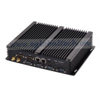 Dual LANs Dual HDMI 6 COM USB Industrial Computer Fanless Mini PC Core i7 4500U Small Desktop