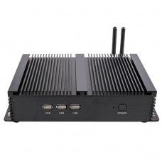 Fanless Mini PC i3 6157U Industrial Computer 24 Hours Working 2 COM HDMI VGA Dual Display 300M Wifi 4K HD HTPC