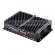 Barebone Industrial Fanless Mini PC Windows 10 Intel Core i3 4010UVGA HDMI HTPC HD Graphics 4400