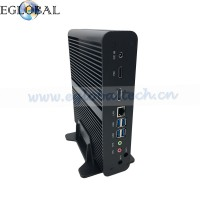 Eglobal Multimedia 4K Barebone Fanless Mini HTPC HDMI DP Nuc PC Core i7 7500U Slim PC
