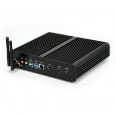 EGLOBAL 2019 Best Mini PC Windows 10 Intel Core i7 6500U Fanless Mini Computers DP HDMI Linux Micro PC