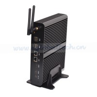 Eglobal Barebone Fanless Mini PC Core i7 4650u 2 HDMI 2 LAN Industrial Computer