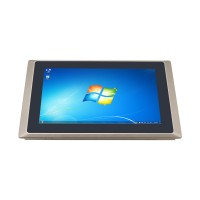 10.1 inch ALL in ONE pc intel core i5 4200U industrial touch pc IP65 panel PC Windows COM LAN HDMI onboard 4G Memory