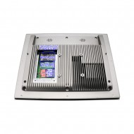 High Brightness Industrial Touch Screen All in one 17 inch Wall Mounted Mini Panel PC 1080x1024 Resolution 5 Wire Computer
